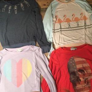 WILDFOX sweatshirts sold individually $50.